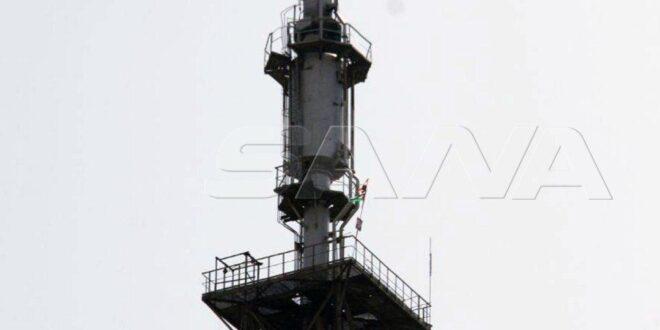 بالفيديو.. إضاءة الشعلة الشرقية لمصفاة بانياس إيذاناً ببدء تشغيل وحدات إنتاج البنزين