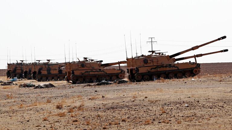الجيش التركي يقصف قرية علوك شمال شرق سوريا