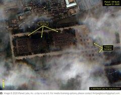 أقمار صناعية أمريكية ترصد تجمعات ضخمة لجيش كوريا الشمالية
