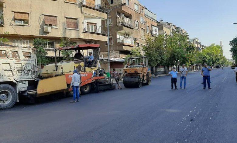 أغلب طرق دمشق جاهزة لاستقبال موسم الشتاء