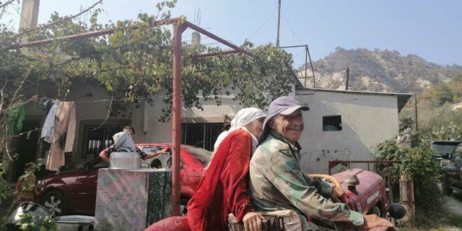 ابتسامة أهالي من ريف اللاذقية وعودة إلى العمل بعد ساعات من إطفاء الحرائق