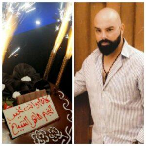 الفنان ماهرالشيخ يطفئ شمعة ميلاده في دبي ٢٠٢٠