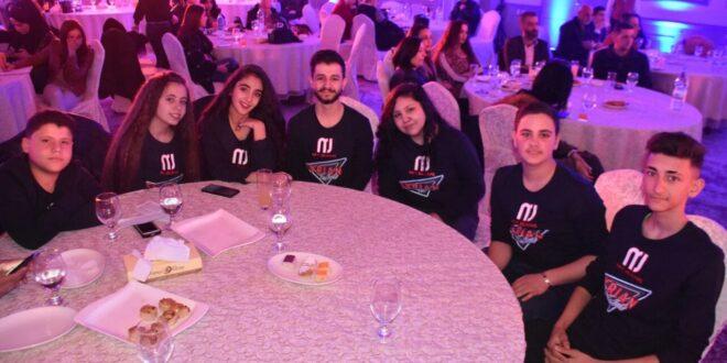 حفل إطلاق مرحلة العروض المباشرة لبرنامج Syrian talent