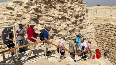 """بالصور.. افتتاح مقبرة الملك """"زوسر"""" في سقارة بمصر"""